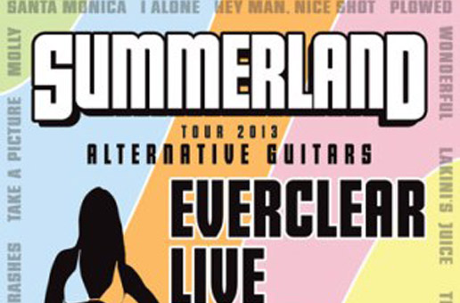 SUMMERLAND TOUR 2013 Alternative Guitars Starring EVERCLEAR, LIVE, FILTER and SPONGE