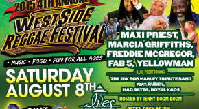 4TH ANNUAL WESTSIDE REGGAE FESTIVAL