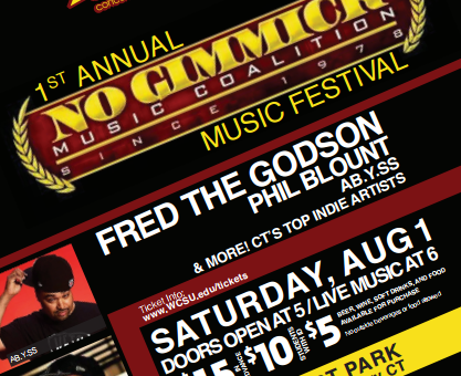 WXCI Presents Live at the Ives: No Gimmick Music Fest
