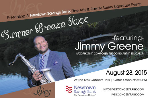 SUMMER BREEZE JAZZ featuring Jimmy Greene