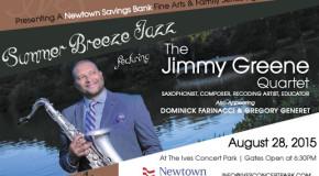 SUMMER BREEZE JAZZ featuring Jimmy Greene