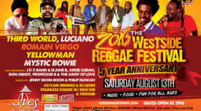 5th Annual Westside Reggae Festival