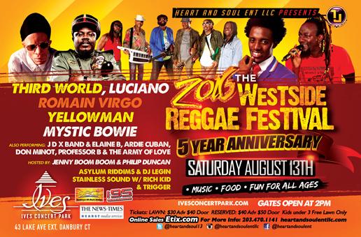 Westside Reggae Festival New Lineup
