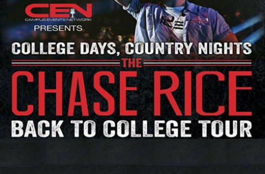 CHASE RICE 'BACK TO COLLEGE TOUR'