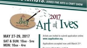 2017 Art at Ives: Juried Fine Art & Crafts Show