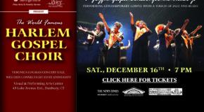 Harlem Gospel Choir – Sat. Dec. 16