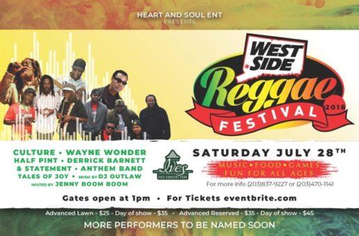 Westside Reggae Festival – Sat, July 28