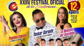 Ecuadorian Festival- Sunday August 12