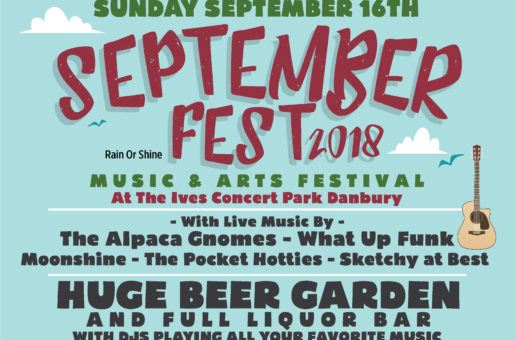 September Fest – Sunday, September 16, 2018
