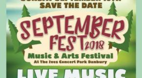 September Fest – Sunday, September 16, 2018