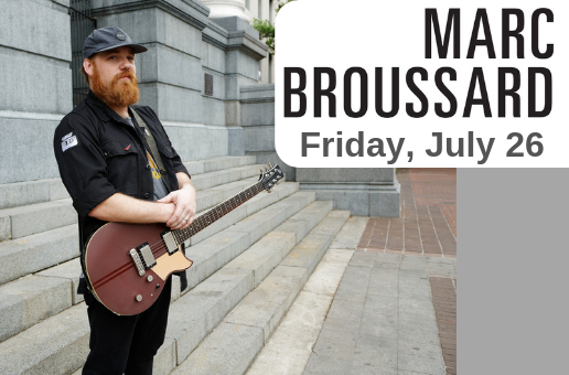 Marc Broussard – Friday, July 26