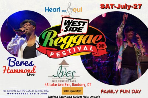 Beres Hammond Headlines Westside Reggae Fest – Sat, July 27