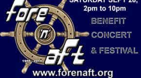 Fore N Aft Benefit Concert – Sat, Sept. 28