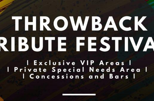 Throwback Tribute Festival  Sat, June 6